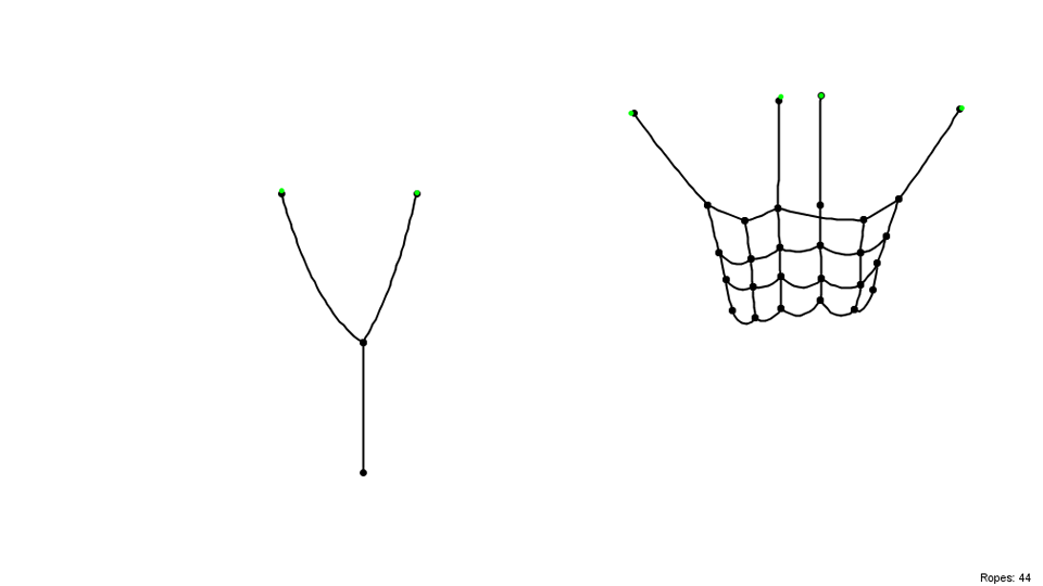 Rope Physics Simulation